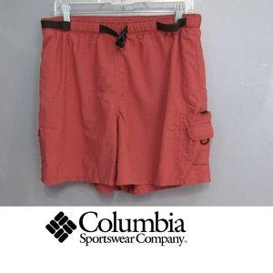 Columbia Nylon Hiking Cargo Shorts Size XL